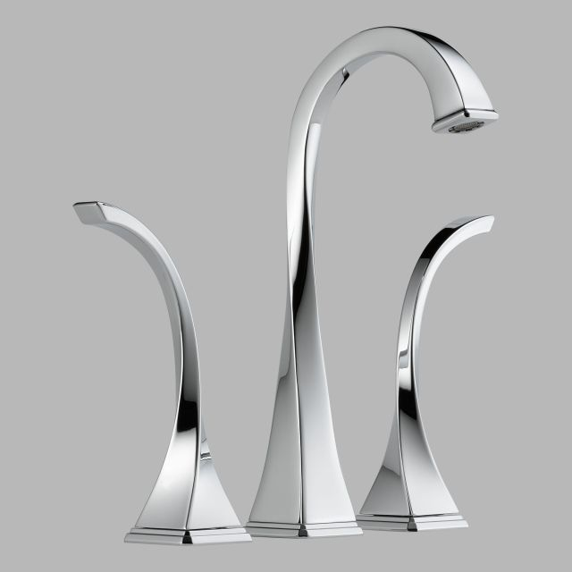 This Brizo Virage Faucet is so gorgeous and different