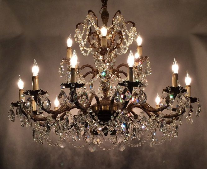 How To Re An Old Antique Brass Chandelier Like The Professionals Our Step By