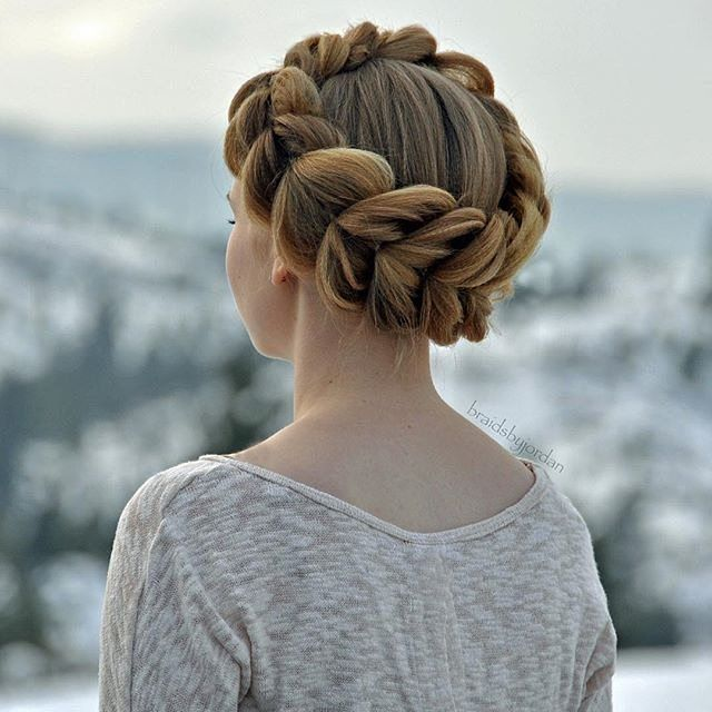90 Beautiful Easy and Elegant Updos     Best For Any Events Check more     40 Adorable Braided Hairstyles You will Love