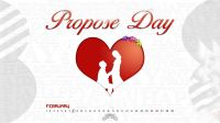 propose day valentine day