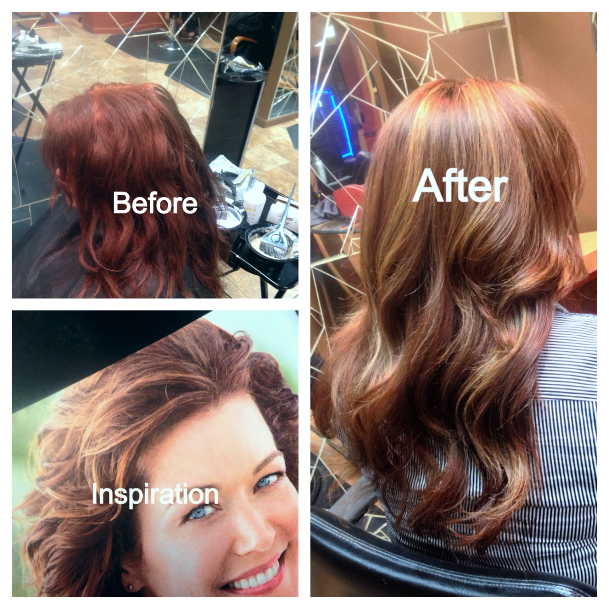 Medium Natural Level 7 Very Orange Added Double Coverage Level 4n Plus A Level 5 Brown Copper