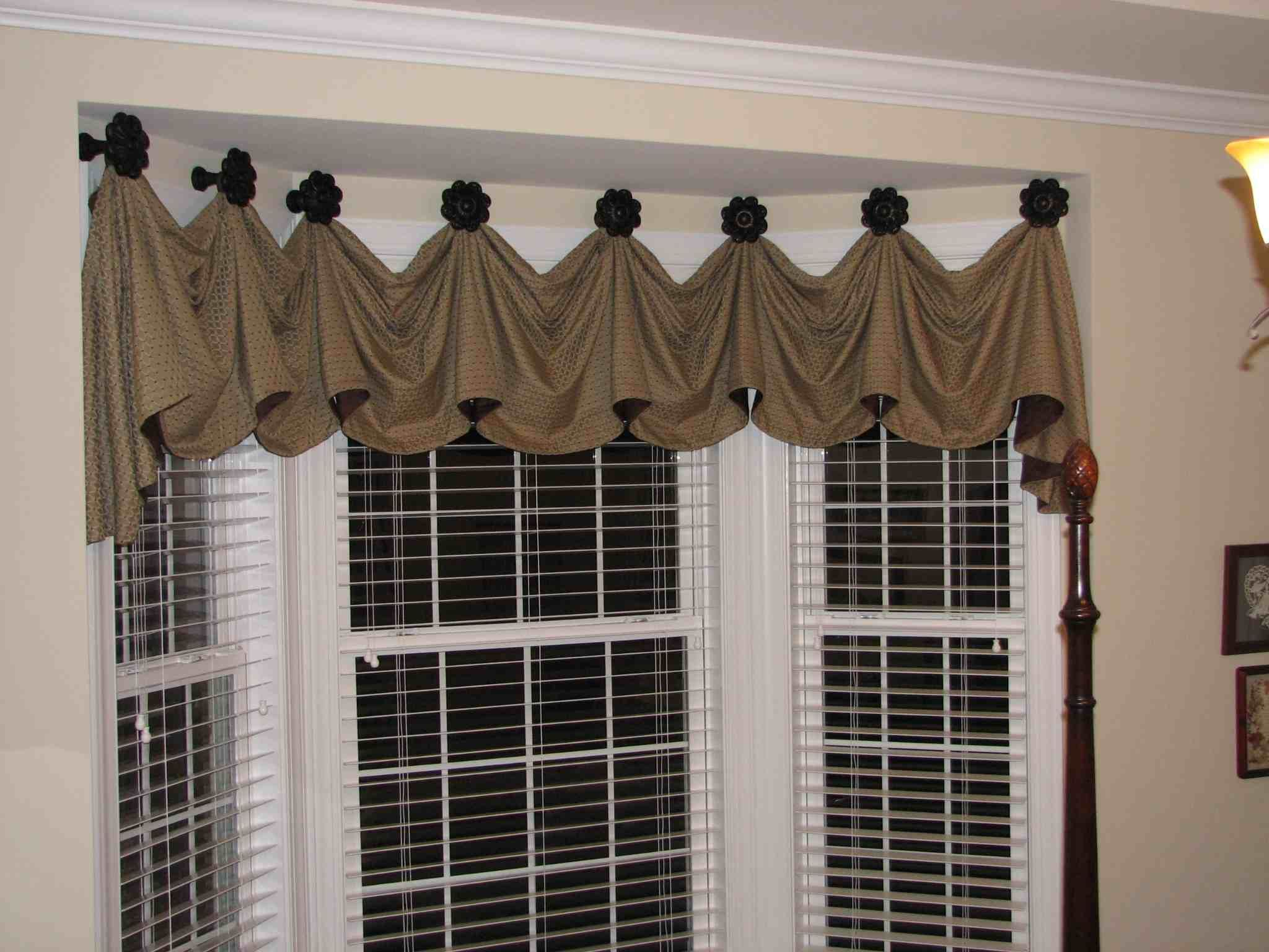 Valances For Bay Windows