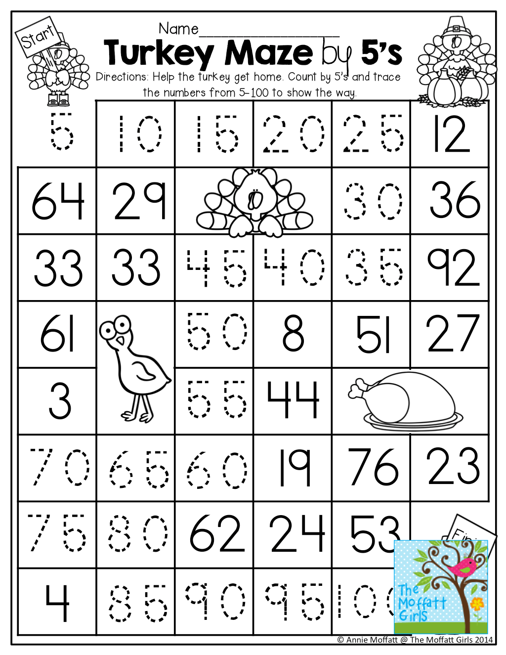 Tool Counting Worksheet
