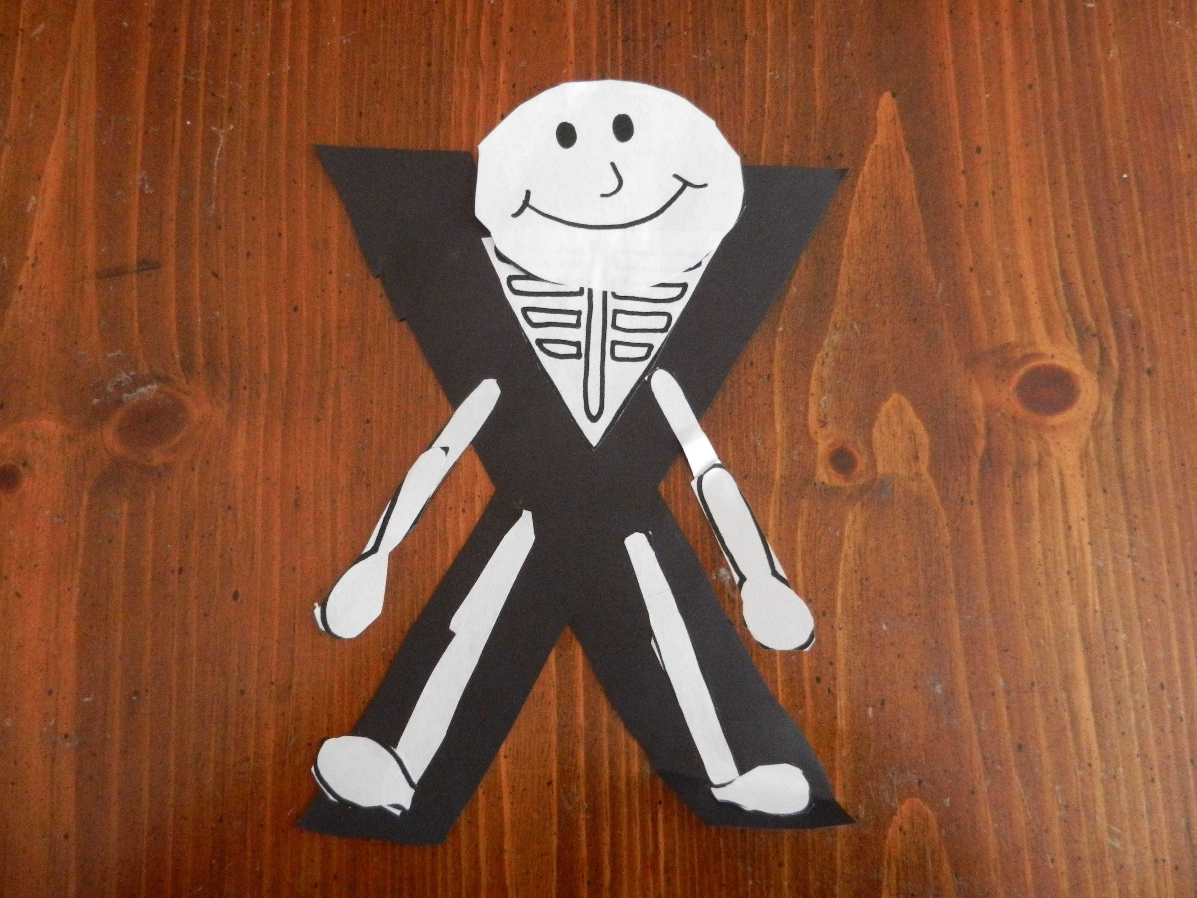 Preschool Crafts Alphabet Crafts Make An X Ray For Letter X Craft