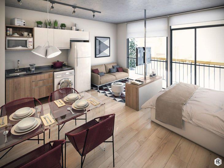 Creative Studio Apartment Design Ideas Studio apartment