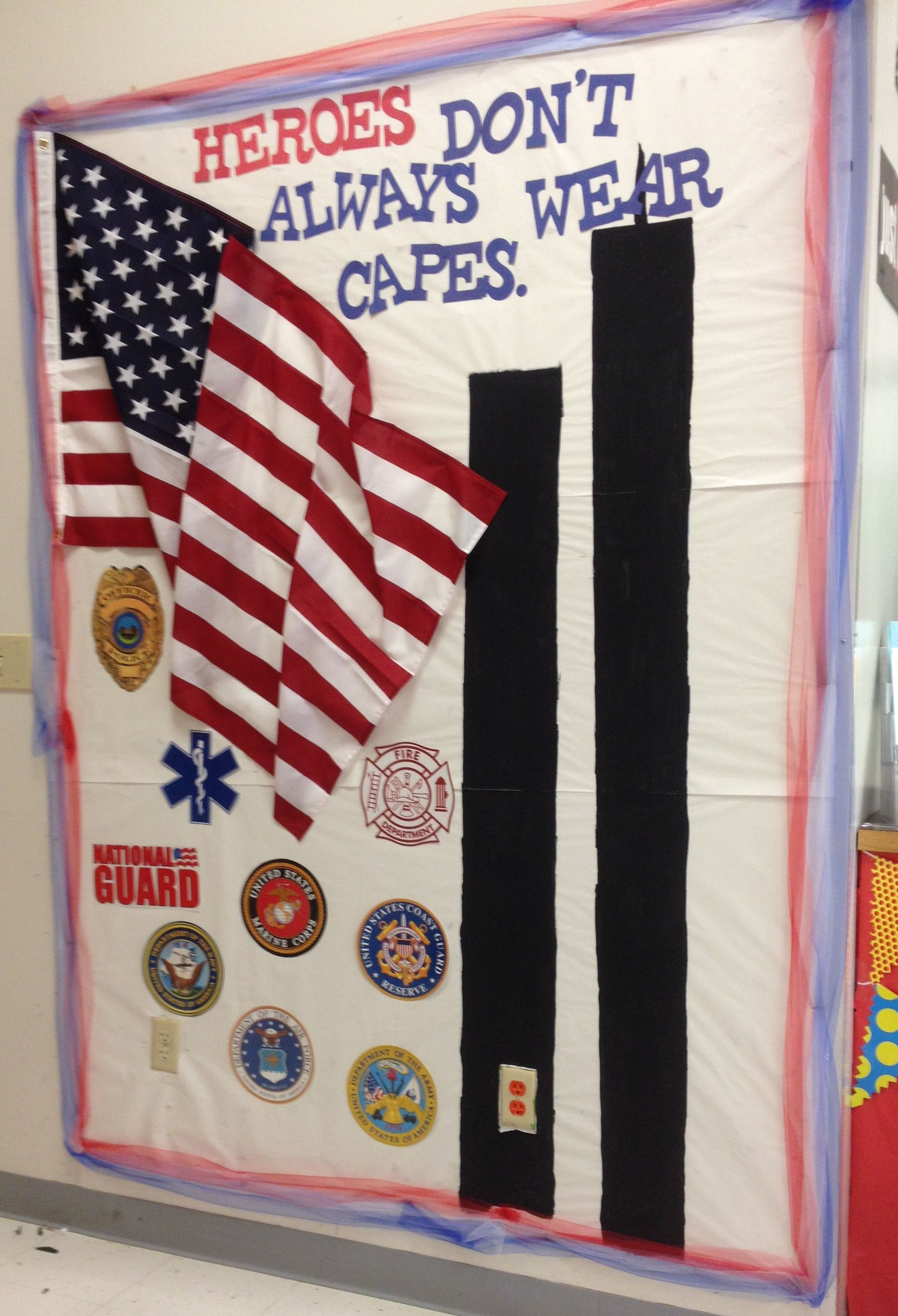 Heroes Don T Always Wear Capes September 11 Bulletin