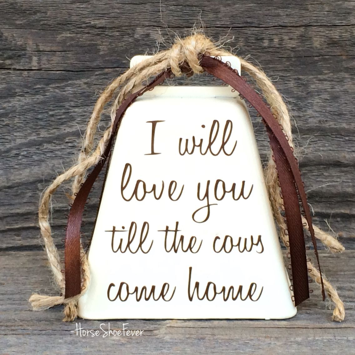 Download Cowbell Decor. HorseShoeFever on Etsy. Cowgirl, cowboy ...