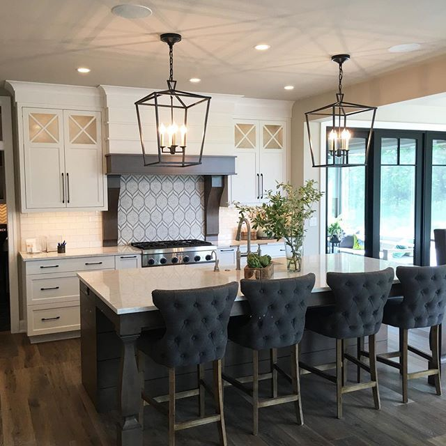 loved this kitchen by bruce heys builders during my parade of homes tour for the home on kitchen island ideas black id=55228