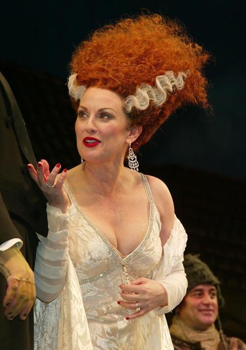 Megan Mullally in Young Frankenstein   Theatre   Pinterest ...
