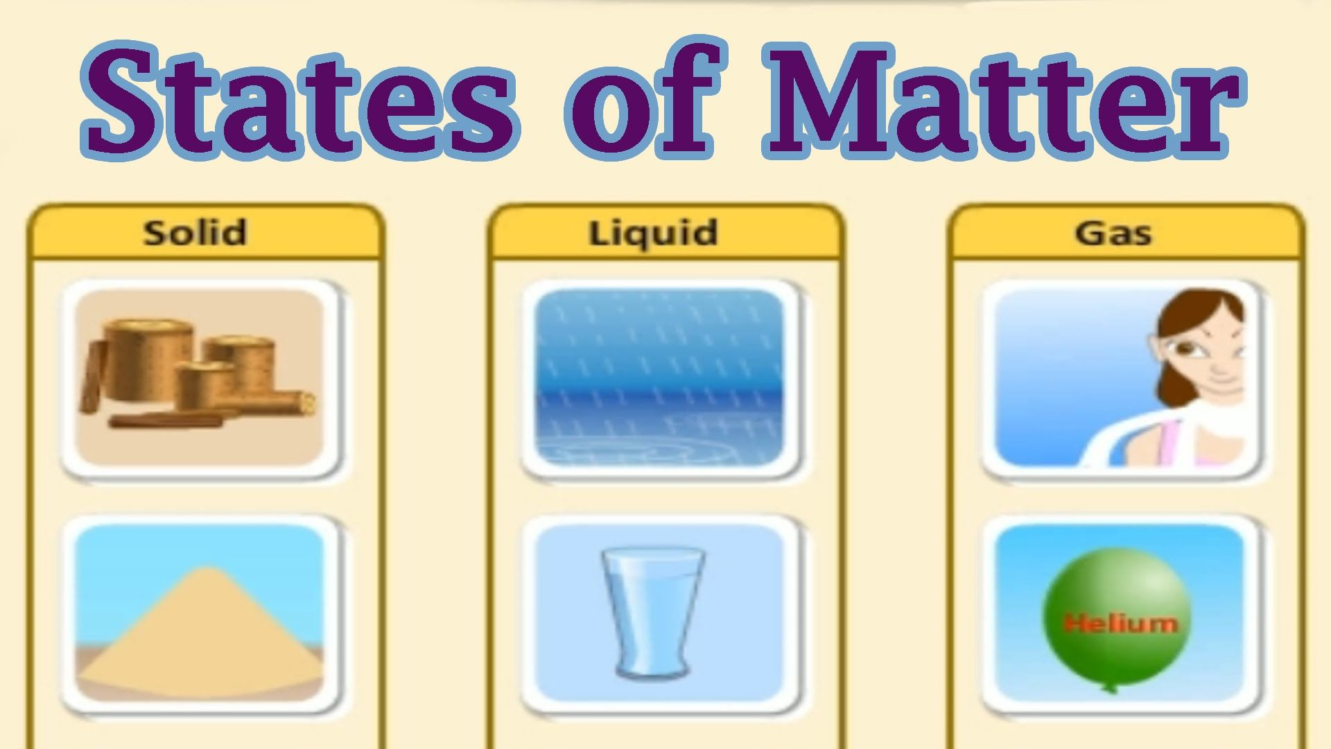 States Of Matter Interactive Game For Kids This Youtube Video From The Site Creators Highlights