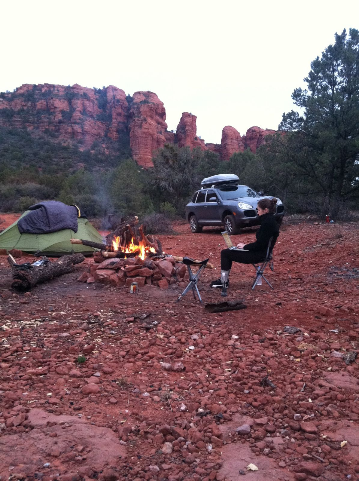 Off Roading And Free Camping In Sedona Az