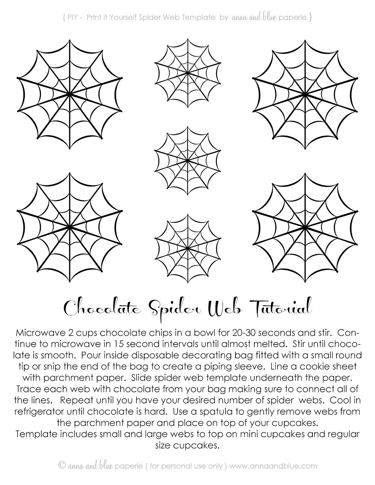 Anna And Blue Paperie Free Printable Spooktacular