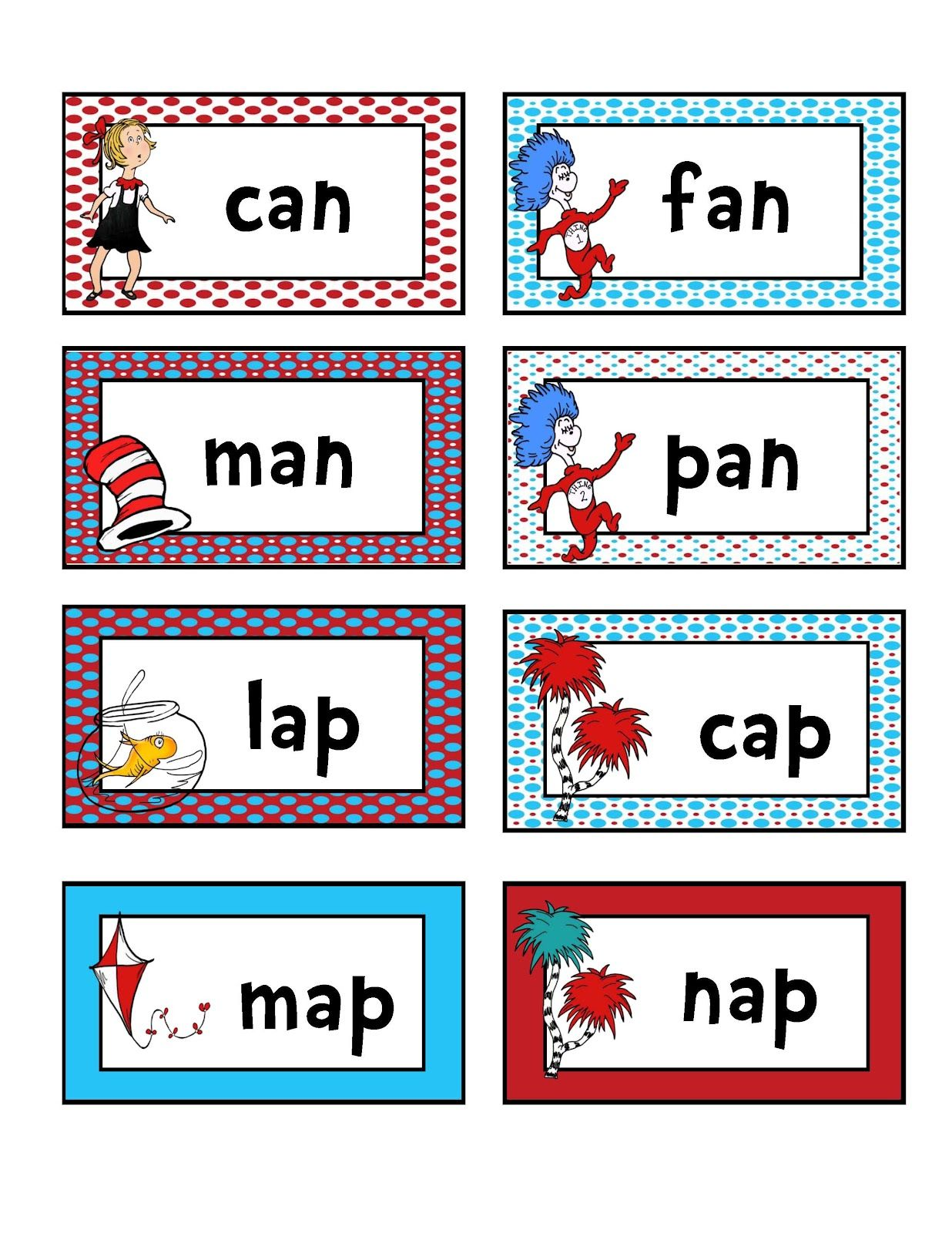 Preschool Printables Rhyming And Matching Reading Game