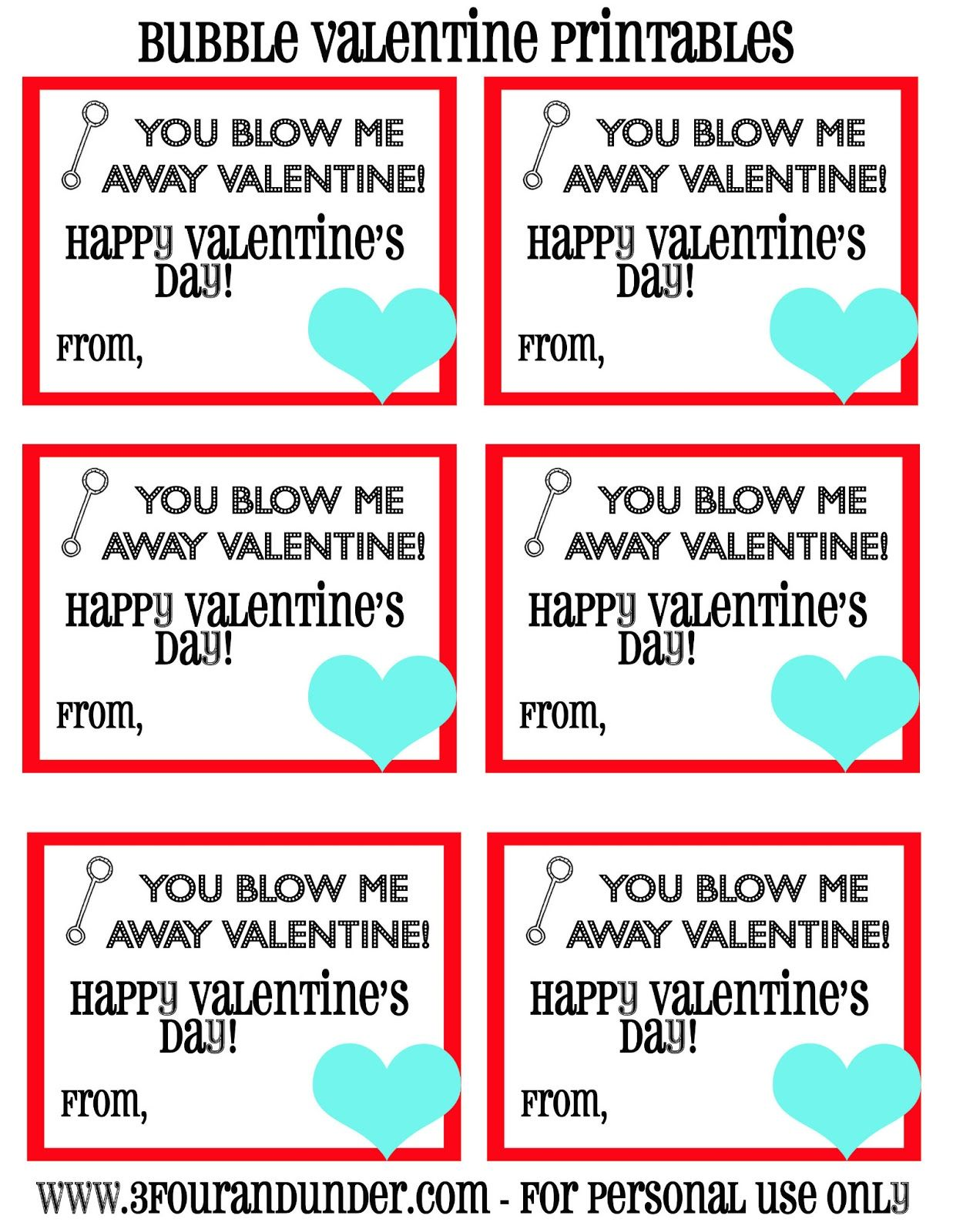 Blow Me Away Valentine Printable 1 237 1 600 Pixels