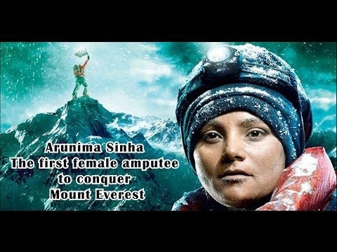 Image result for collage of arunima sinha