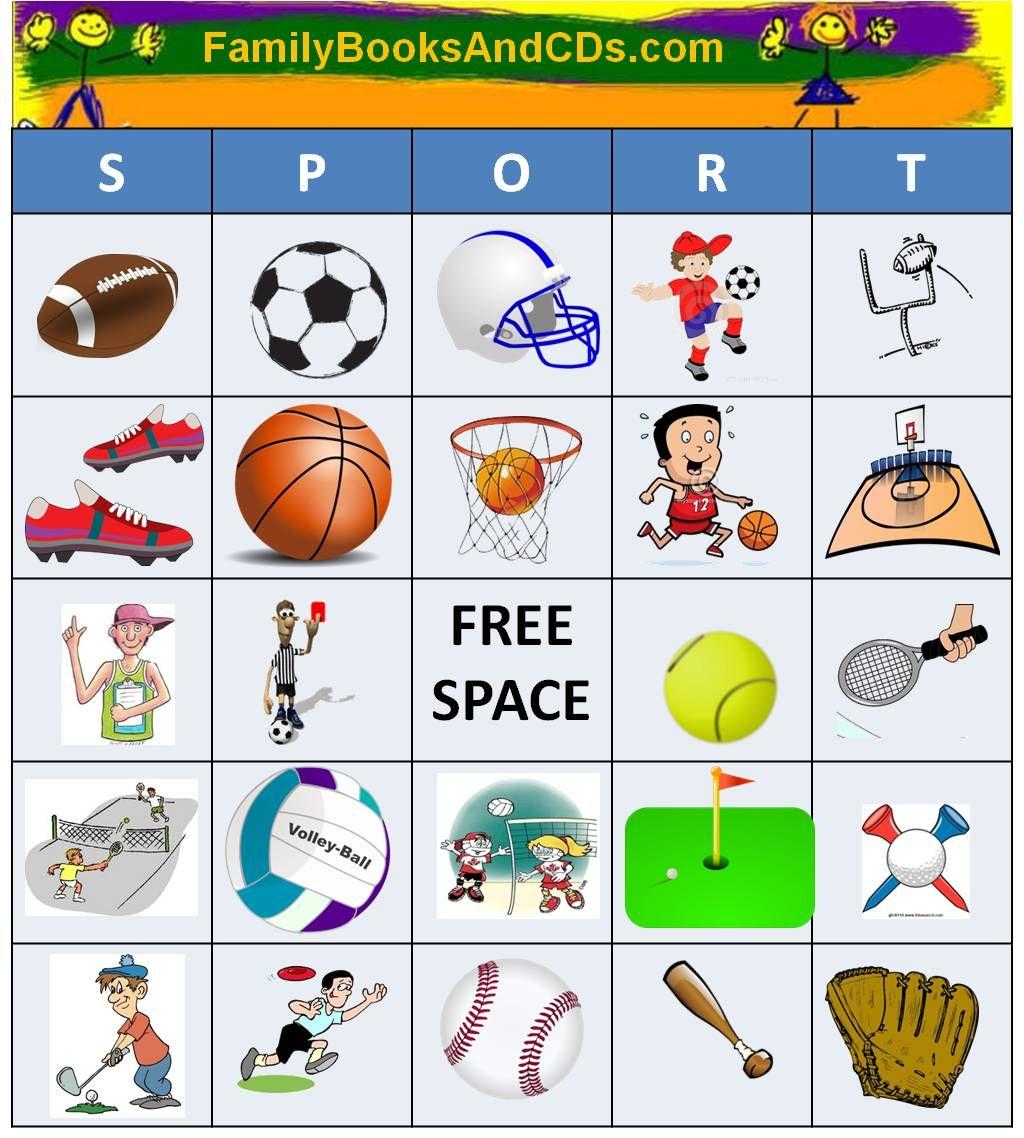 Sports Games Worksheet