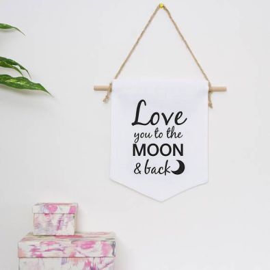 Image result for wall hangings gift saying i love you