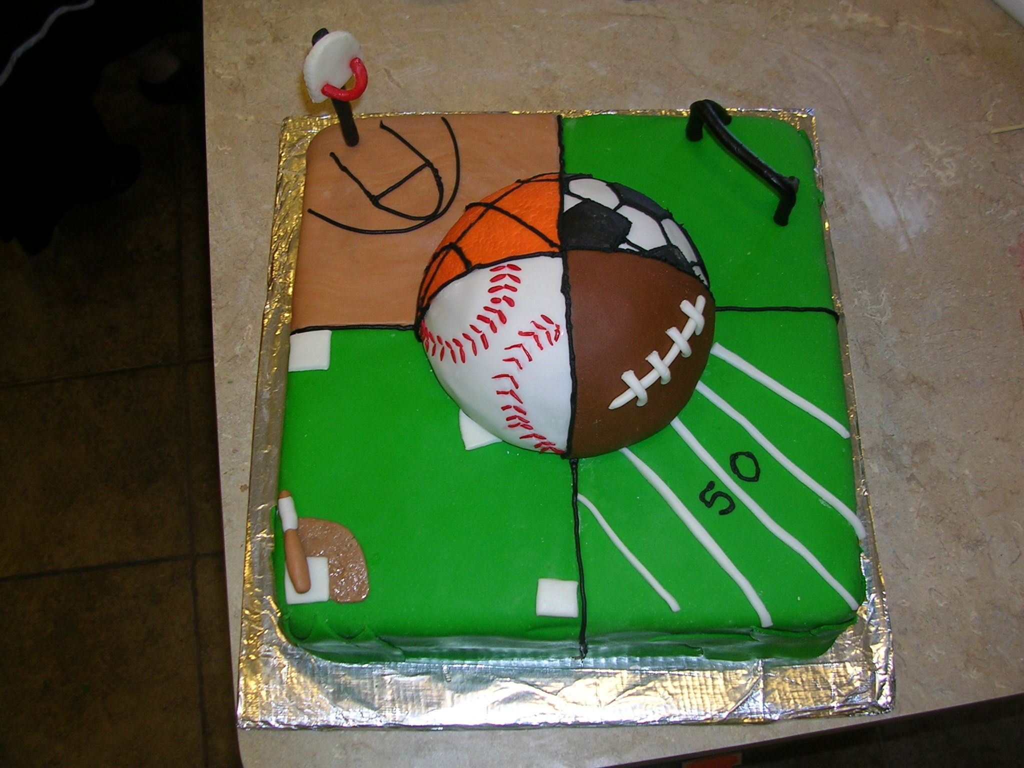 Sports Birthday Cake Ideas For Men