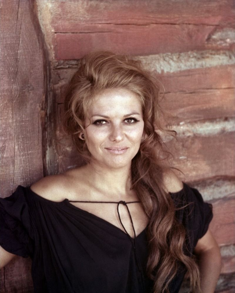 Claudia cardinale old western film once upon a time in