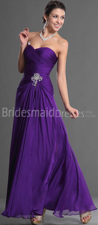 long purple bridesmaid dresslong Bridesmaid Dresses