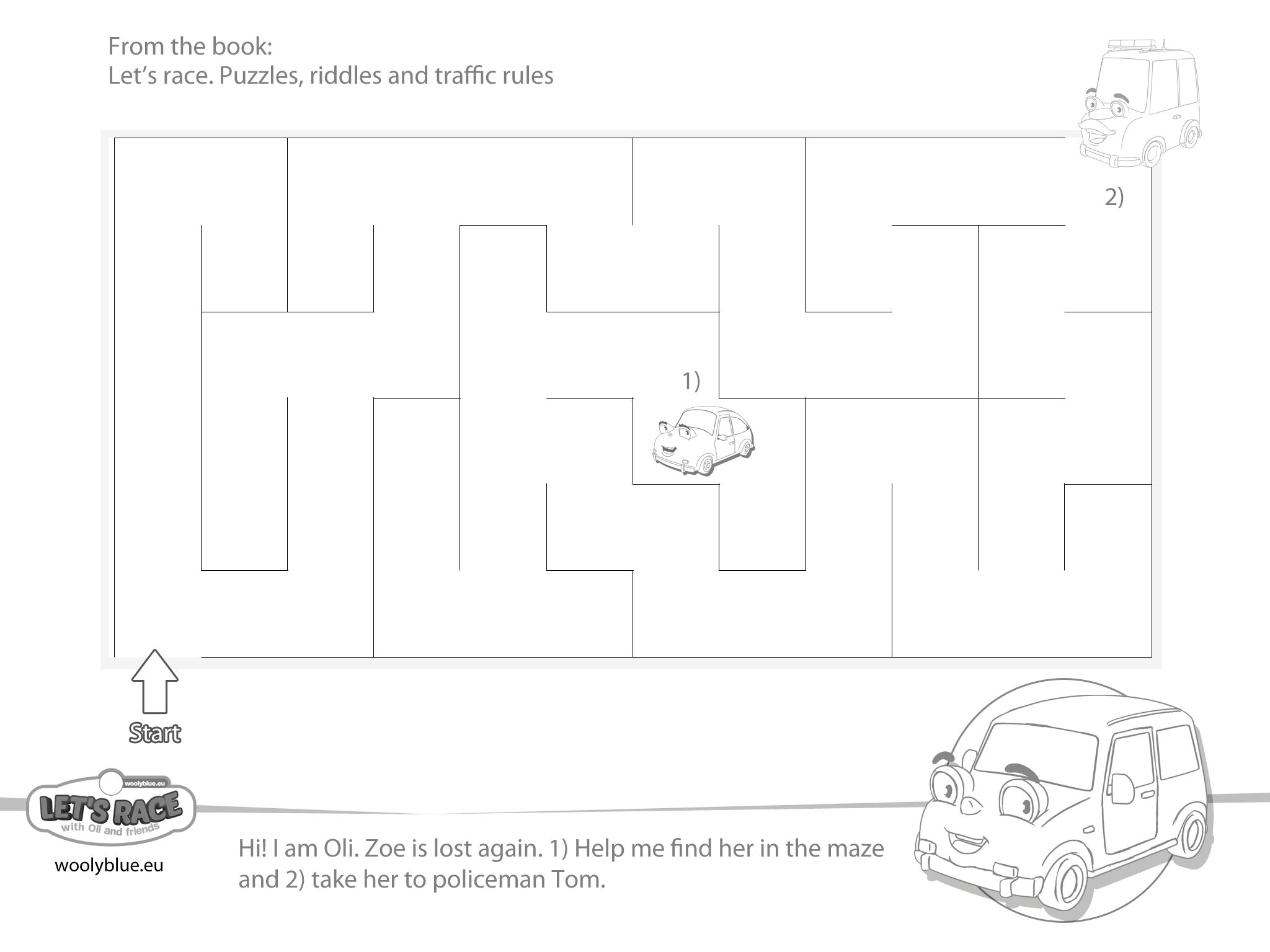 Let S Race Riddles Puzzles And Traffic Rules