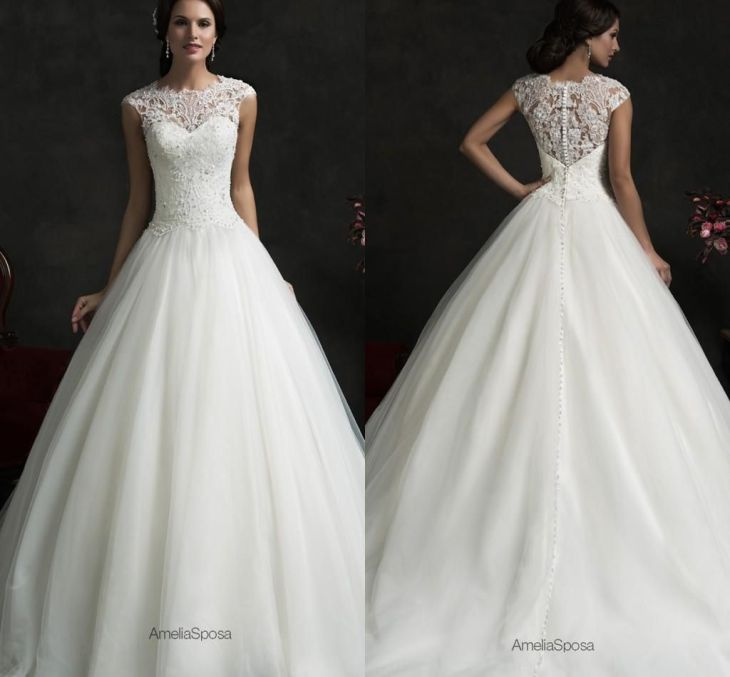 Amelia Sposa Spring A Line Wedding Dresses With Off The