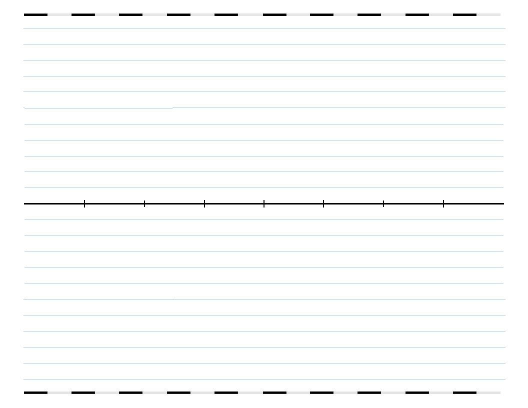 Free Blank Timelines Timeline Template