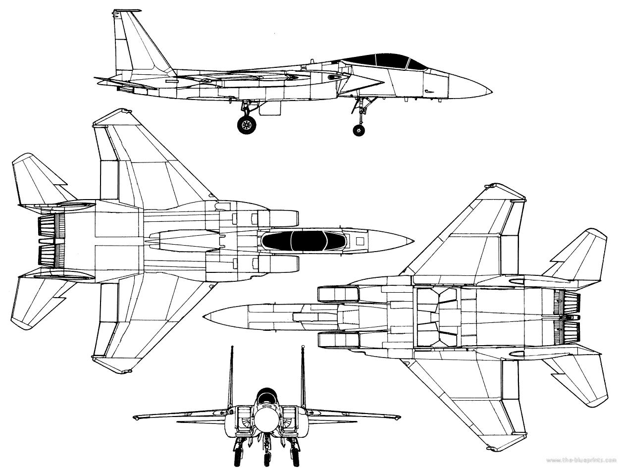 F 15 Blueprints