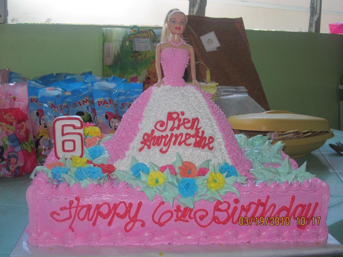 My Barbie S Birthday Cake