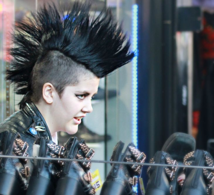 Camden Street StreetPhotography Photography Punk Mohawk Studs Spikes