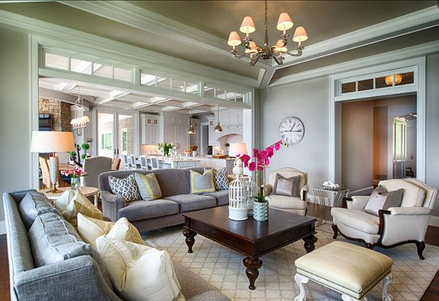 Lovely Hues And Beautiful Tailored Furniture Adds Comfort Elegant To This E Light Fixture Is The Alexa Hampton Myrna Chandelier