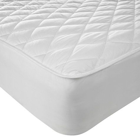 John Lewis New Waterproof Quilted Mattress Protector Online At Johnlewis
