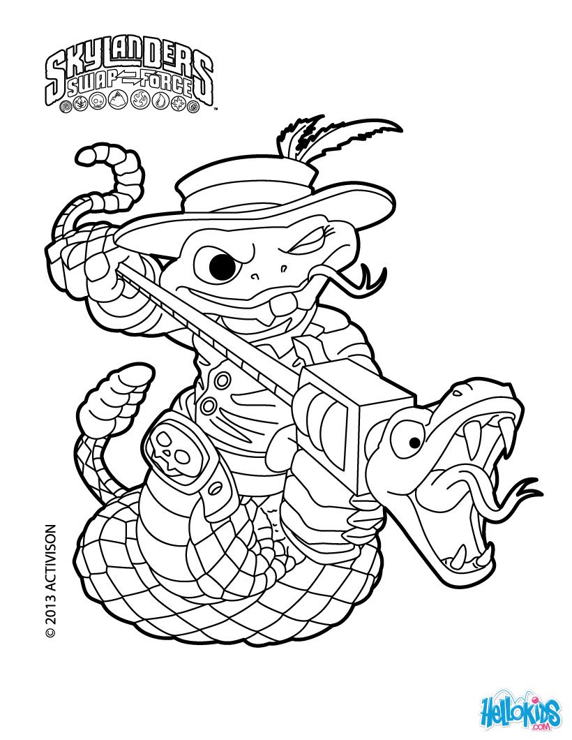rattle shack skylanders coloring pages.  coloring pages