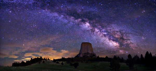 Milky Way Galaxy From Earth Wallpaper HD Pics about space
