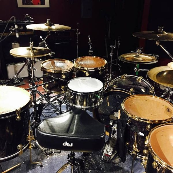 Roy Mayorga's Drum Kit (Stone Sour) | Stone Sour ...