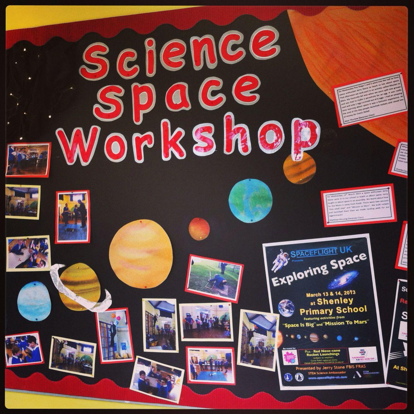 Space Display Primary Ks2 Science