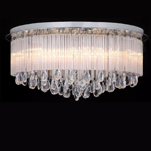 European Artistic Chandeliers With Crystal Plum Pipe 13 Lights On Http