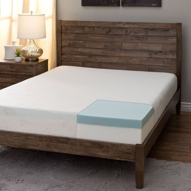Comfort Dreams 8 Inch Twin Size Memory Foam Mattress