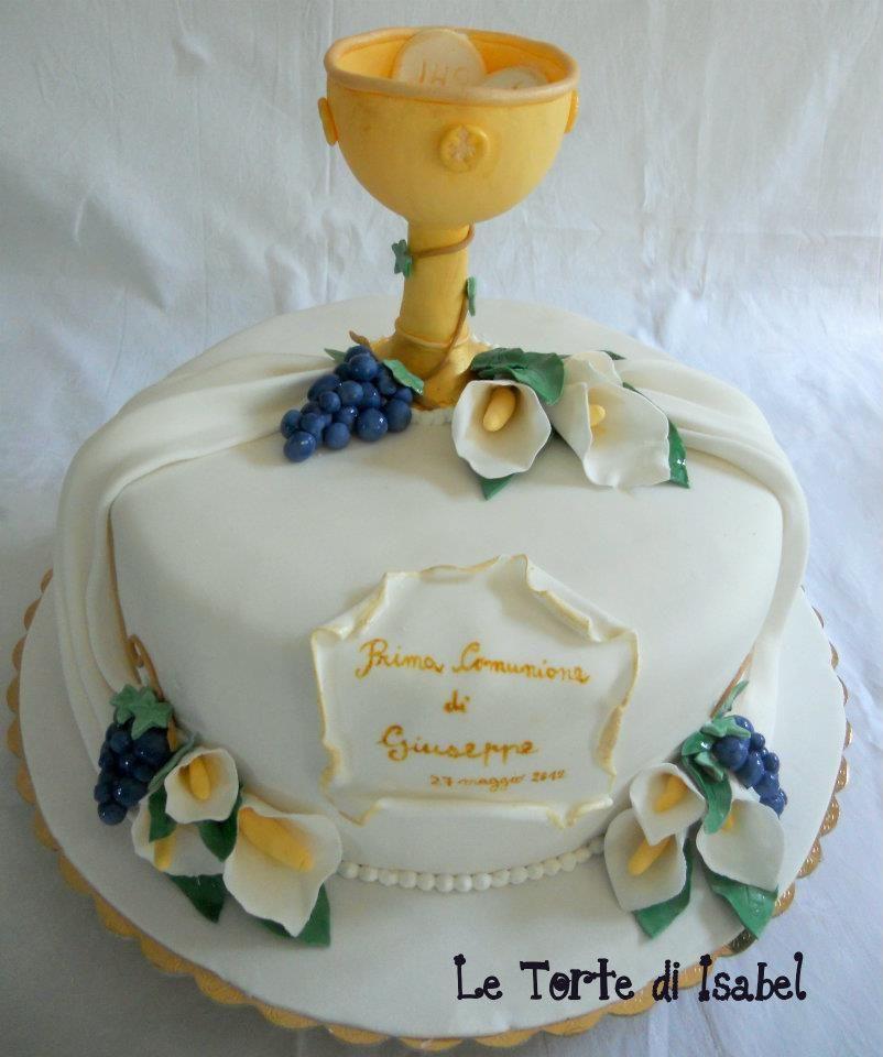 Torta Prima Comunione Le Torte Di Isabel Pinterest