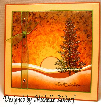 Sunset Pine Cards Pinterest Pine Cards And Card Ideas