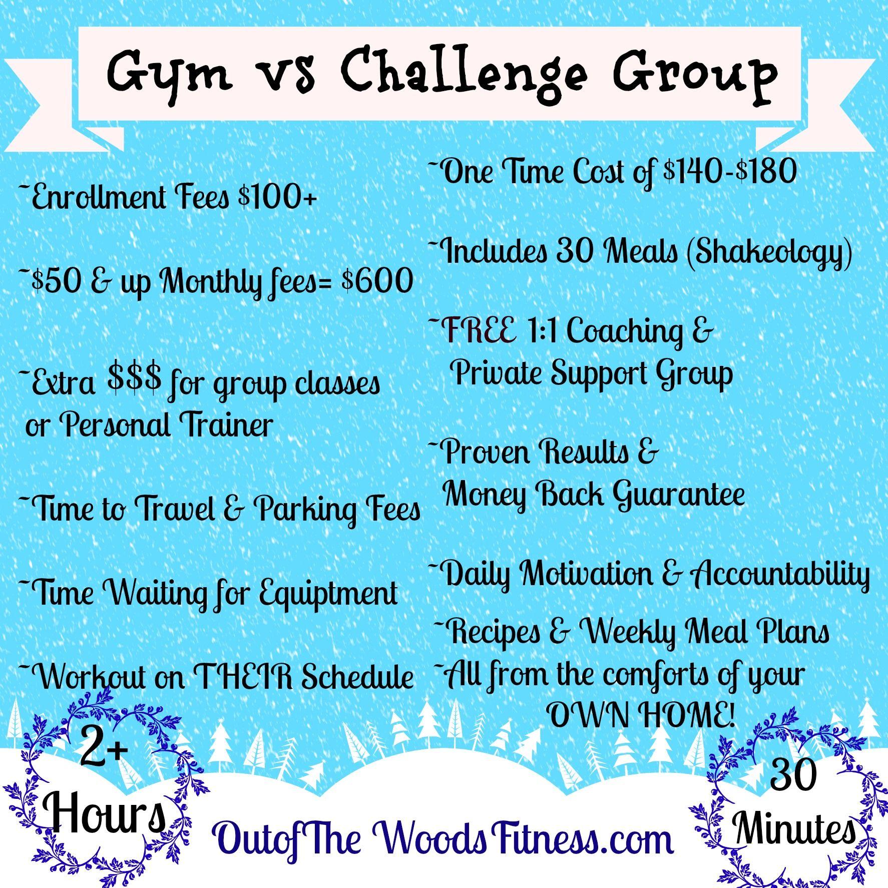 Workout Accountability Ideas