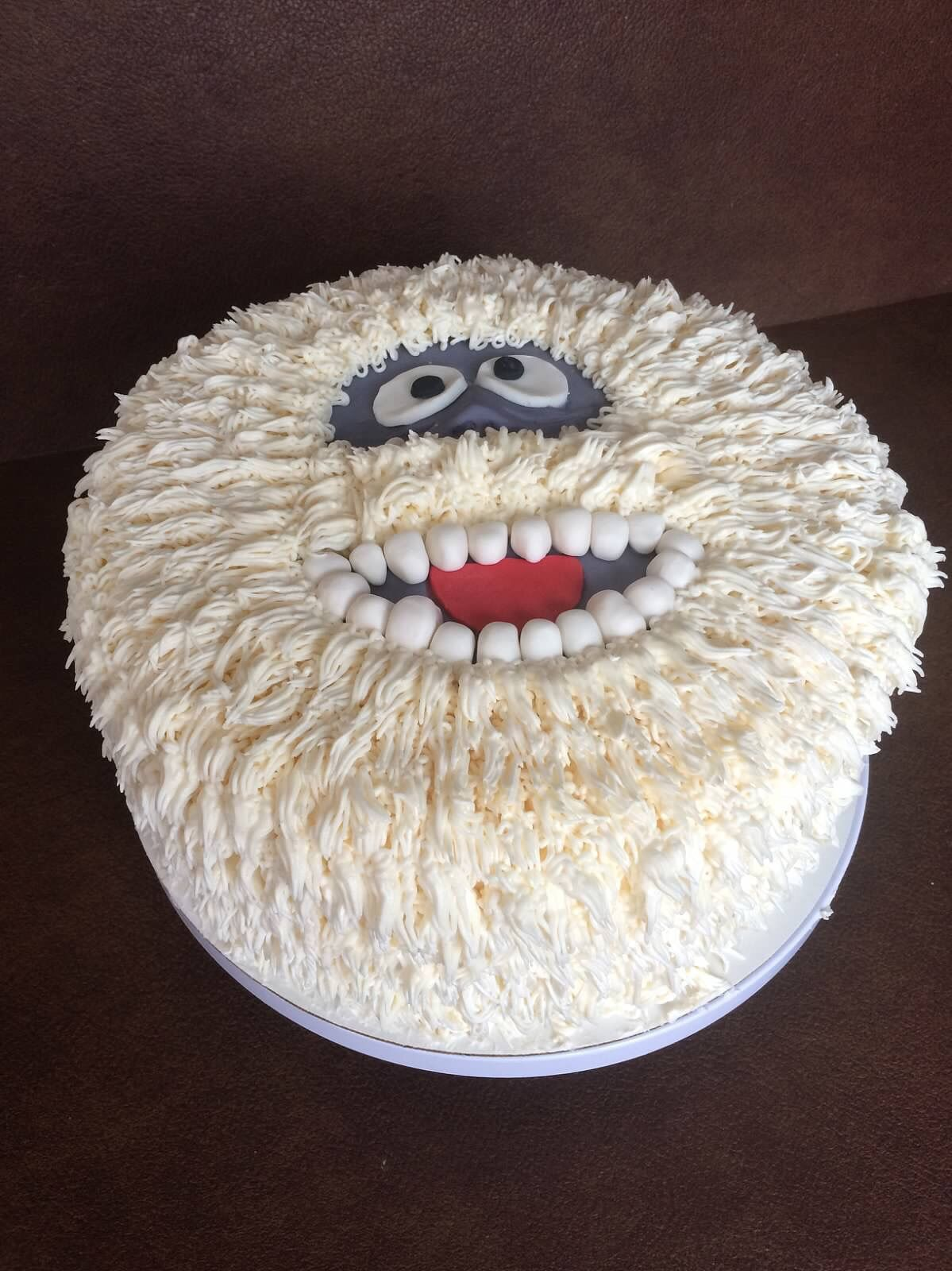Bumble The Abominable Snowman Cake Super Fun