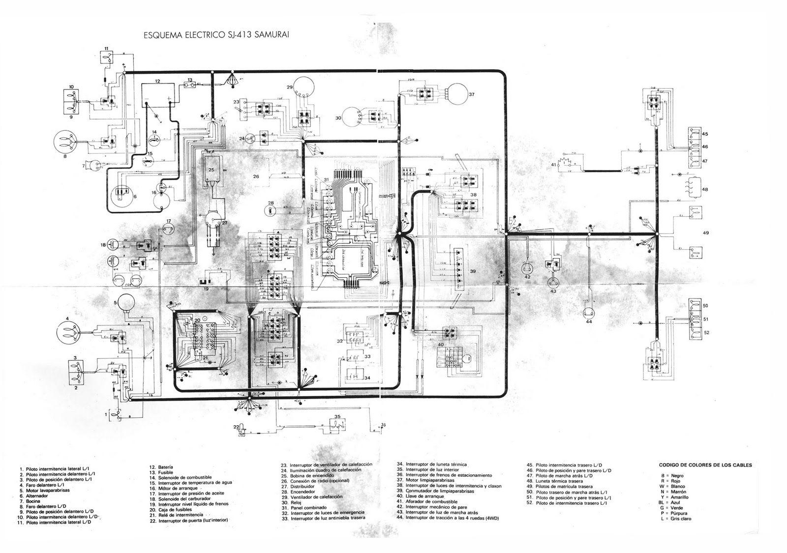 Suzukijeepinfo Scheme Electrical