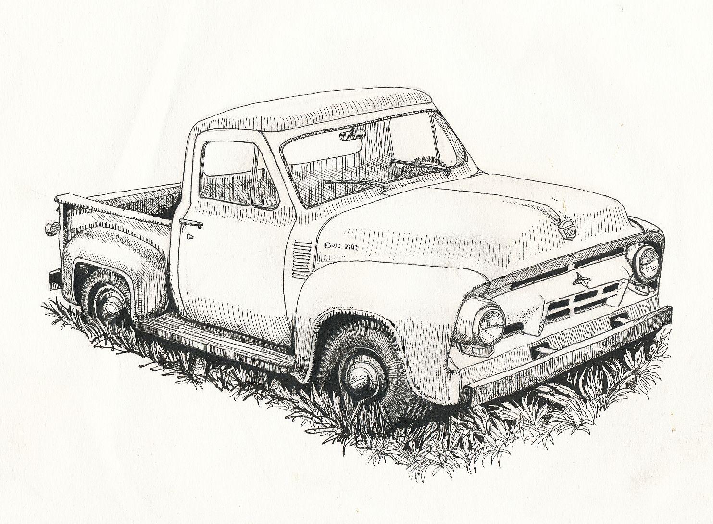 A White Chevy Car