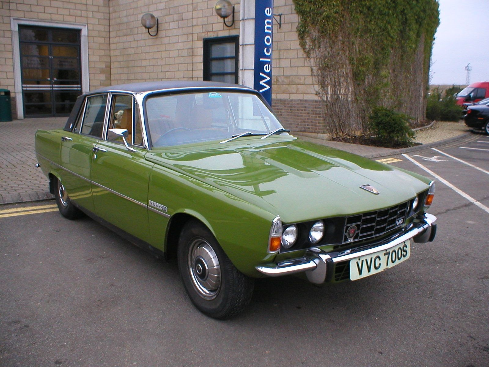 Rover P6 3500S the one is the last P6 off the production line