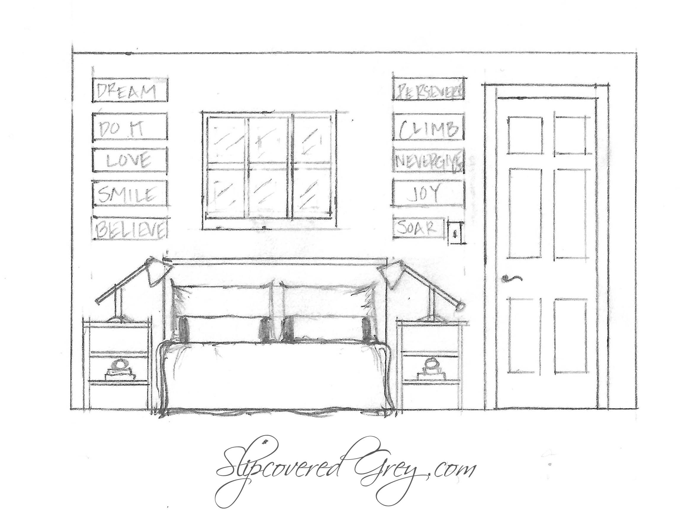 Dinning Room Sectional Elevation