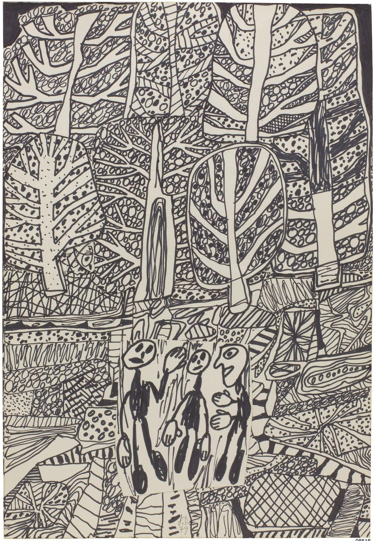 Jean Dubuffet Artwork
