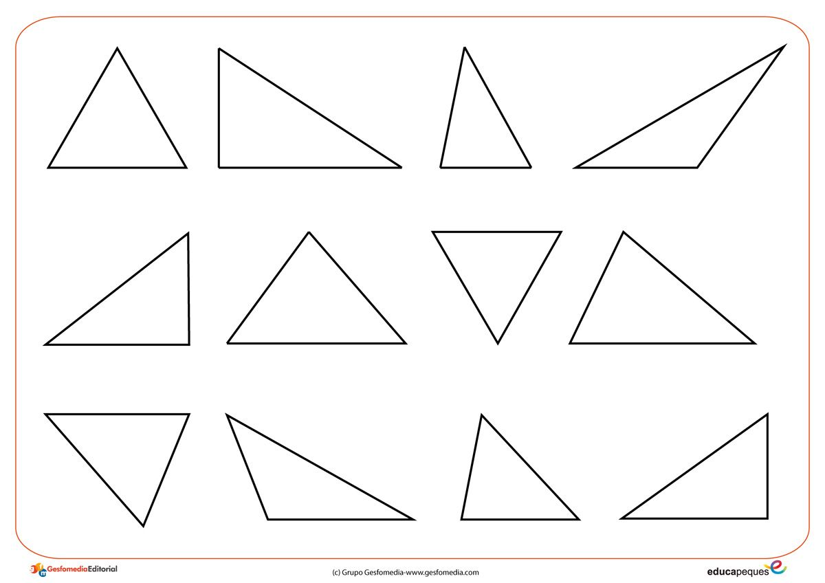 Triangulo Figuras Geometricas Formas Geometricas