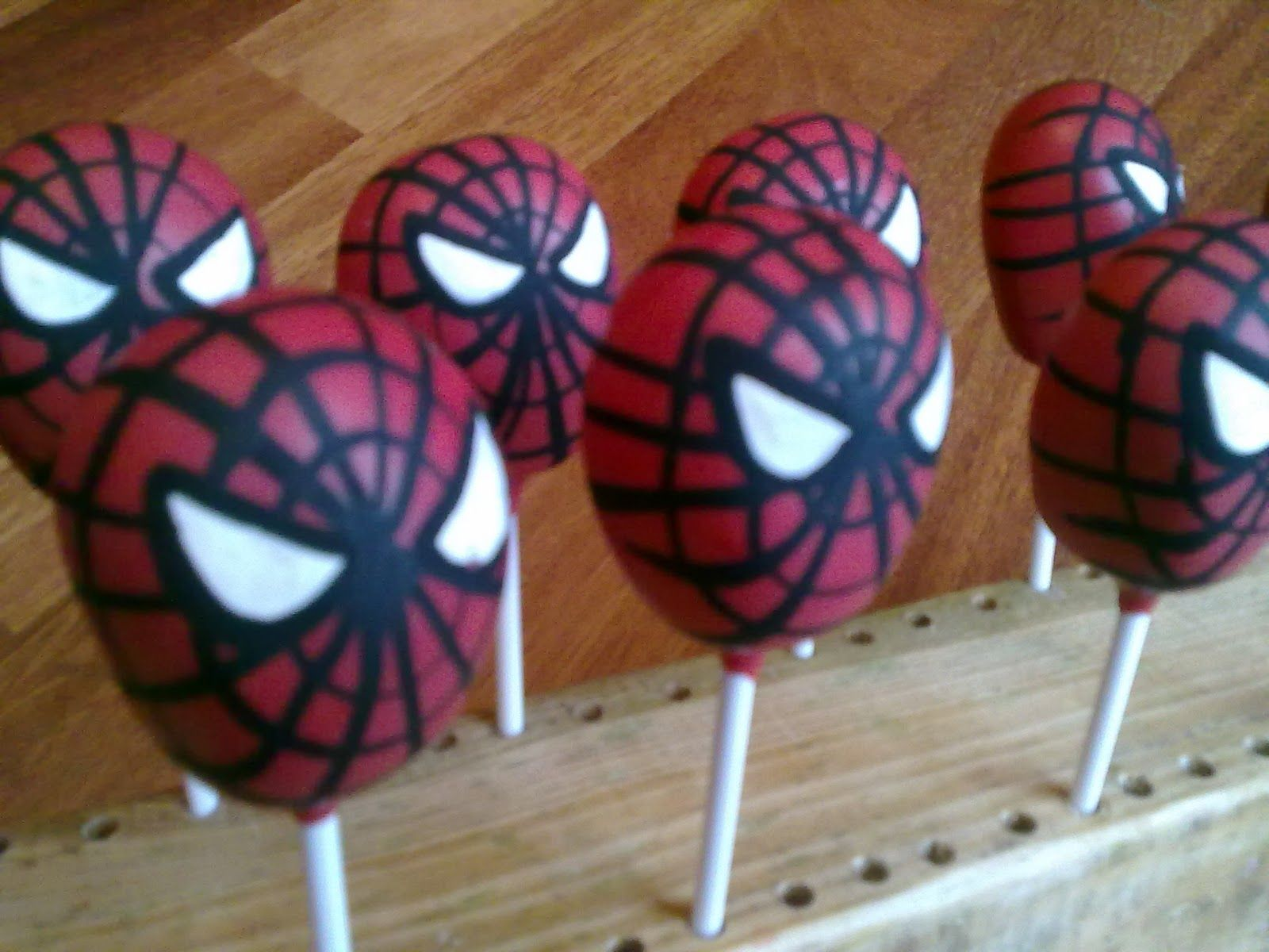 Make Your Own Spiderman Cake Pops For Your Movie Snacks