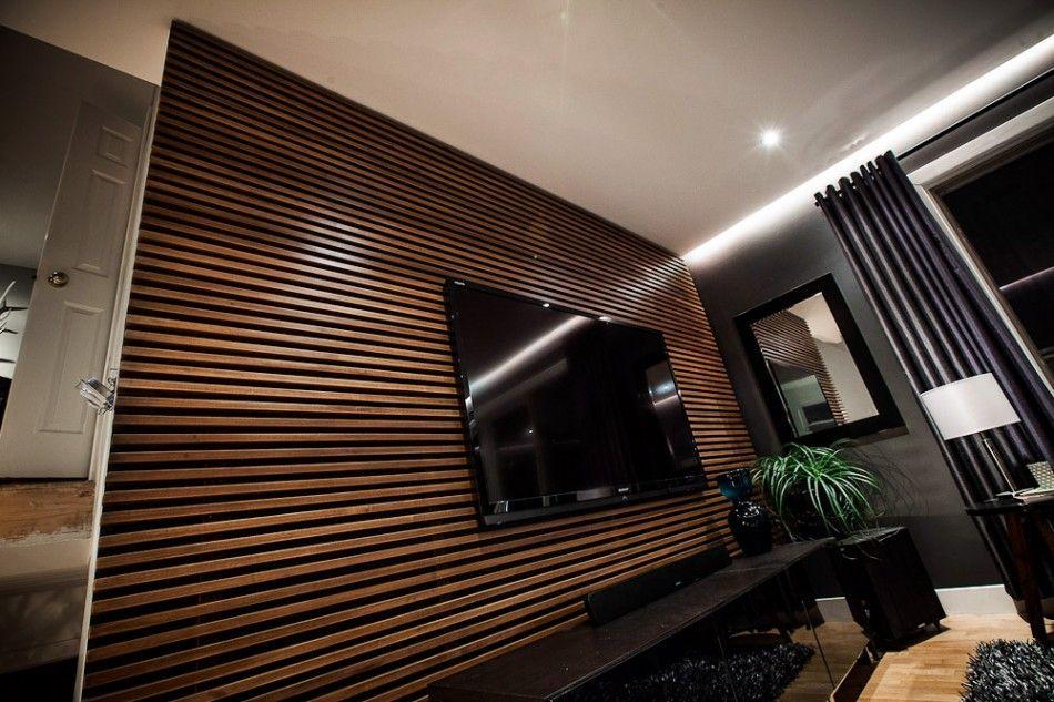 DIY: Slat Wall Wood Surfaces Were